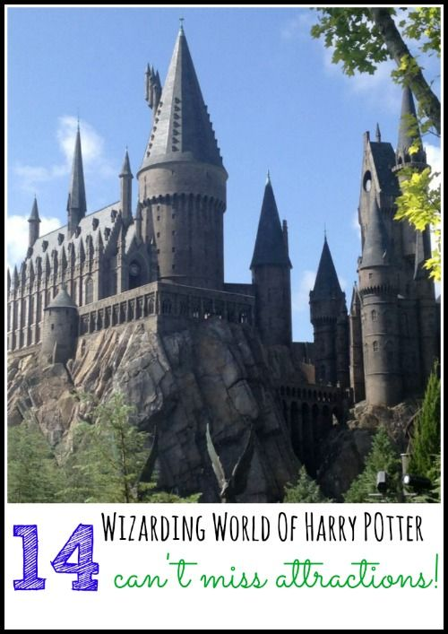 ::READ:: Wizarding World of Harry Potter - 14 can't miss attractions + tips and tricks