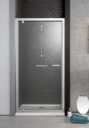Twist DW Radaway drzwi wnękowe wahadłowe 785-810x1900 brąz - 382001-08  http://www.hansloren.pl/Kabiny-prysznicowe/Drzwi-szklane-do-wneki/RADAWAY