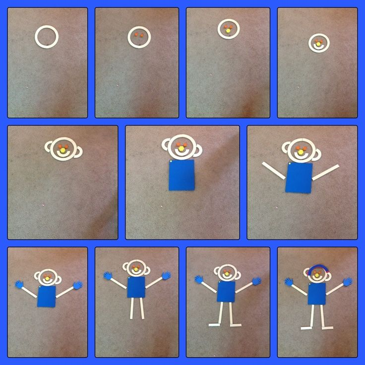 "The Occupational Therapist came into our class today and did the Mat Man activity with my students today. The students use all the pieces from the ""Handwriting Without Tears"" program to…"