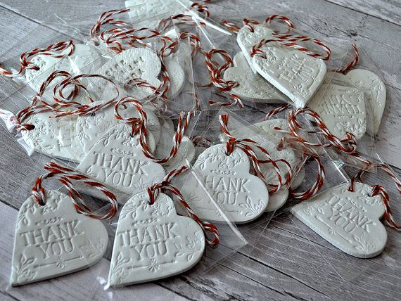 Personalised wedding favours Rustic wedding by FrivolousCrafts