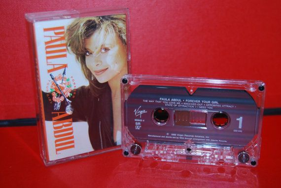 Paula Abdul's Forever Your Girl on cassette tape