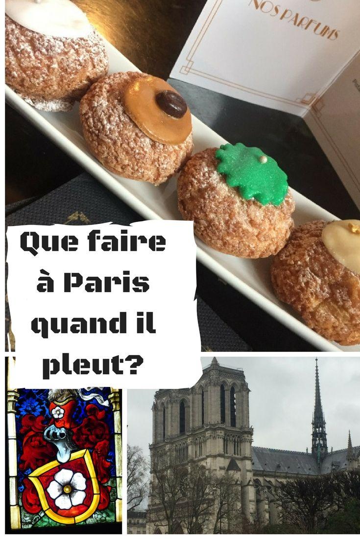 que faire à Paris quand il pleut? #paris  #goûter #musée