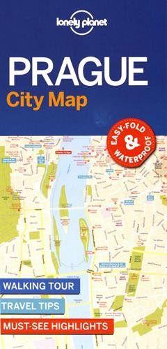 Lonely Planet Prague City Map (Travel Guide) – Prague guide