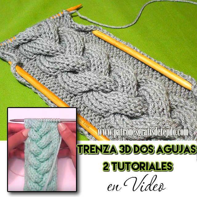 Patrones Y Tutoriales De Tejido Crochet Y Dos Agujas Gratis Para Descargar Punto Dos Agujas Punto Reversible Dos Agujas Tejer Dos Agujas Patrones