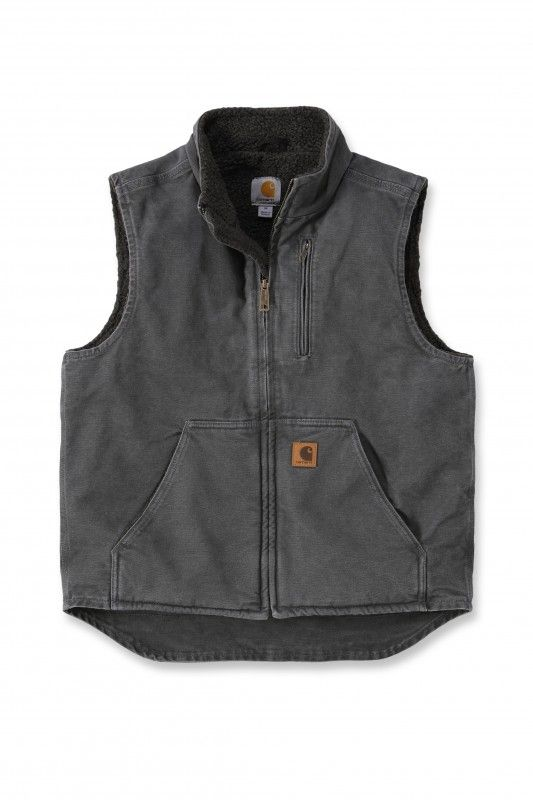 Carhartt Workwear V33 Mock Neck Vest grey