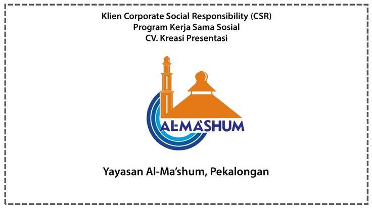 CSR yayasan Al-Ma'shum, Pekalongan