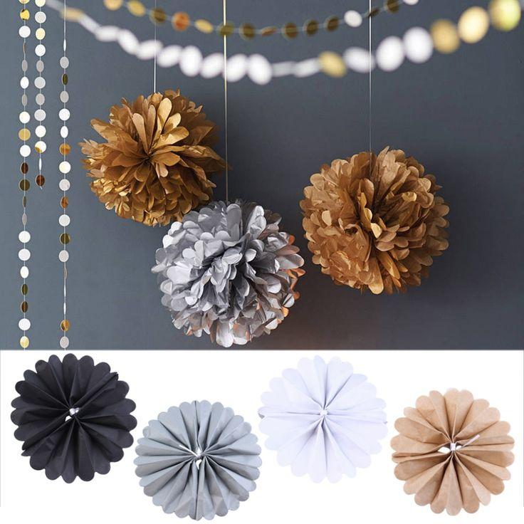 Las 25 mejores ideas sobre pompones de papel china en for Papel de decoracion