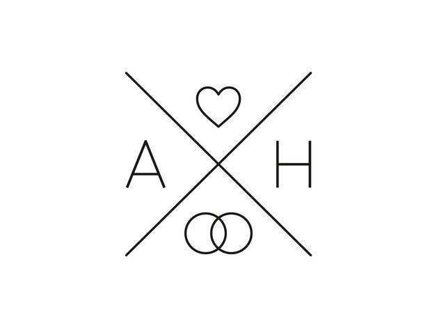 Hochzeitskarten - Stempel zur Hochzeit | Monogramm | Symbol | Herz - ein Designerstück von inLiebe bei DaWanda
