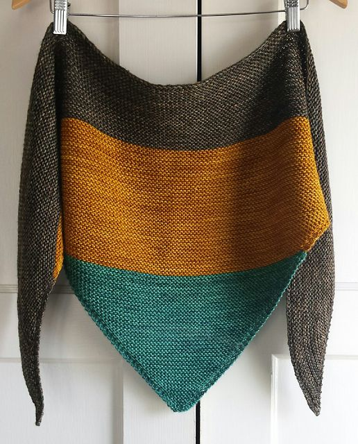 Ravelry: Colorblock Shawl pattern by Jenn Emerson