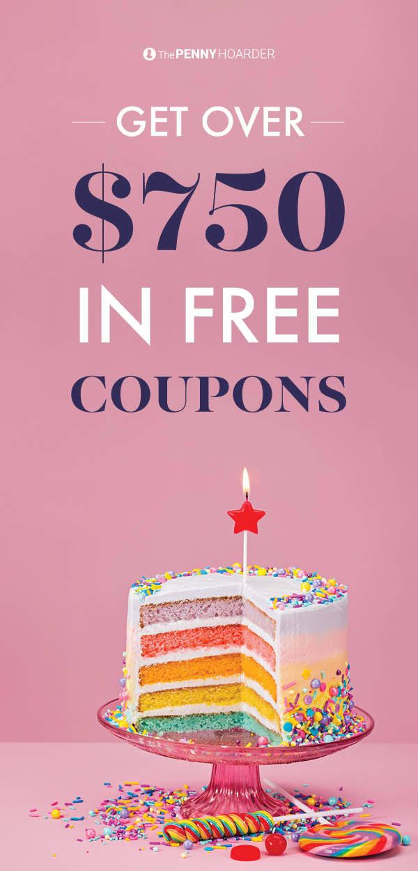 Love cake, cookies and basically anything baked and delicious? Of course you do. Check out these companies that will send you over $750 in free coupons!