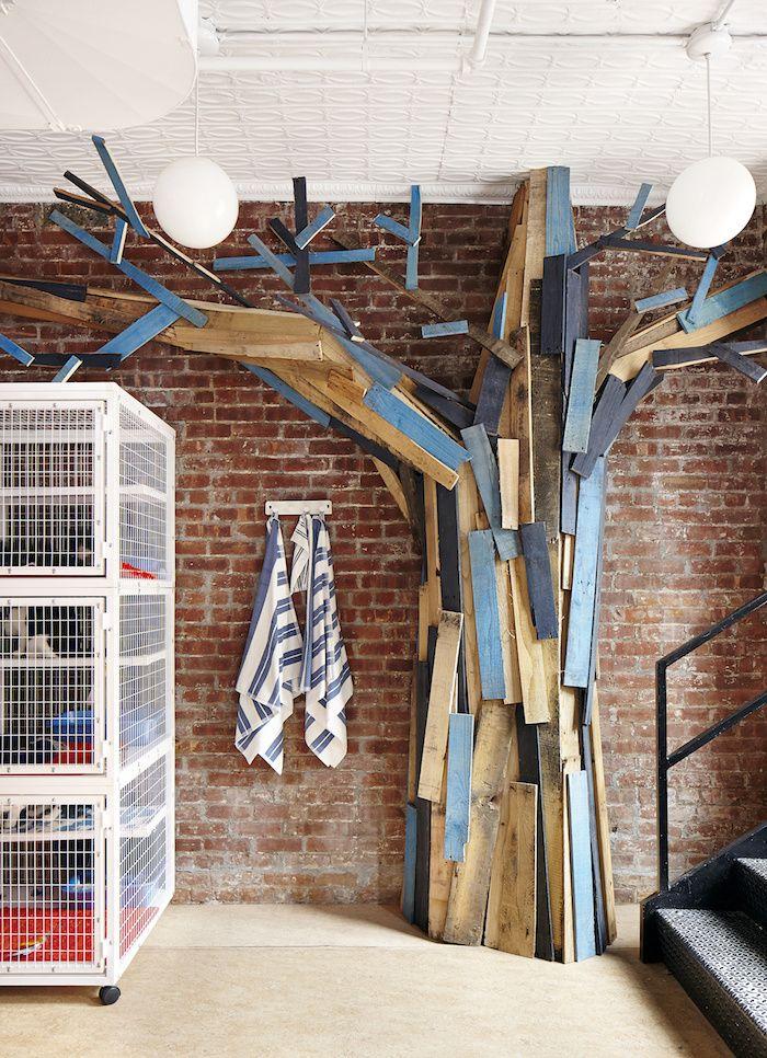 Wood Tree Sculpture