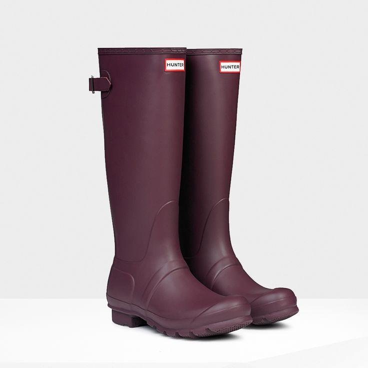 Original Back Adjustable Wellington Boots   Hunter Boot Ltd