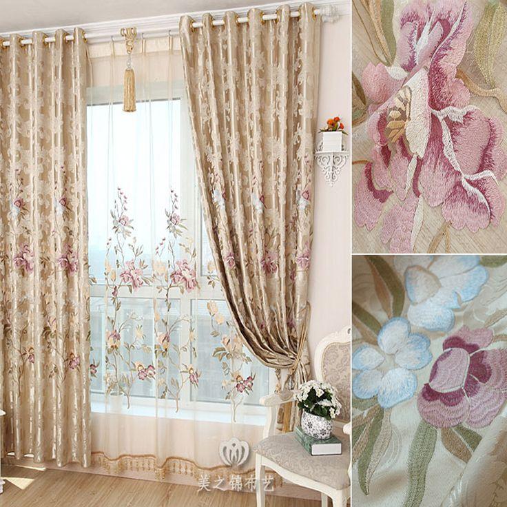 Качество моды роскошь гостиной спальни шторы качество dodechedron ткань вышивки занавес окна скрининга