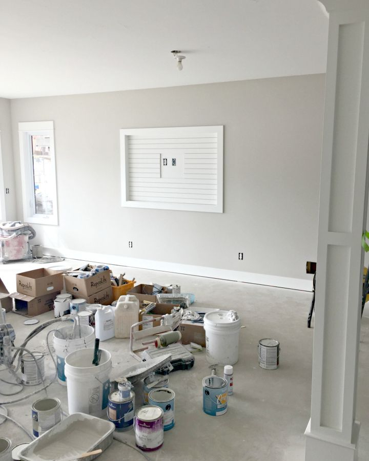 House Update - Paint and Trim - The Lilypad Cottage