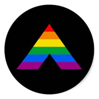 gay pride ally | Straight Ally Symbol Stickers