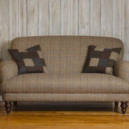 Delightful Tetrad Harris Tweed Braemar Sofa