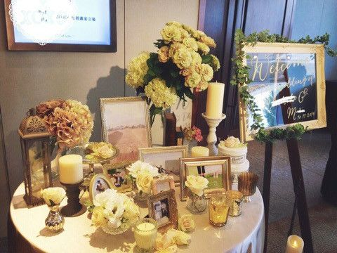 ウェルカムスペース の画像|Jasmine's Palace Wedding - パレスホテルの花嫁 -