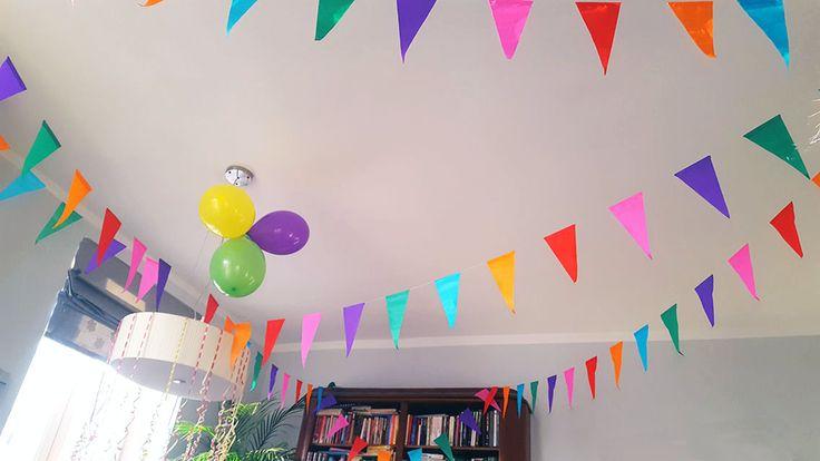 Dekoracja  pokoju na urodziny dziecka