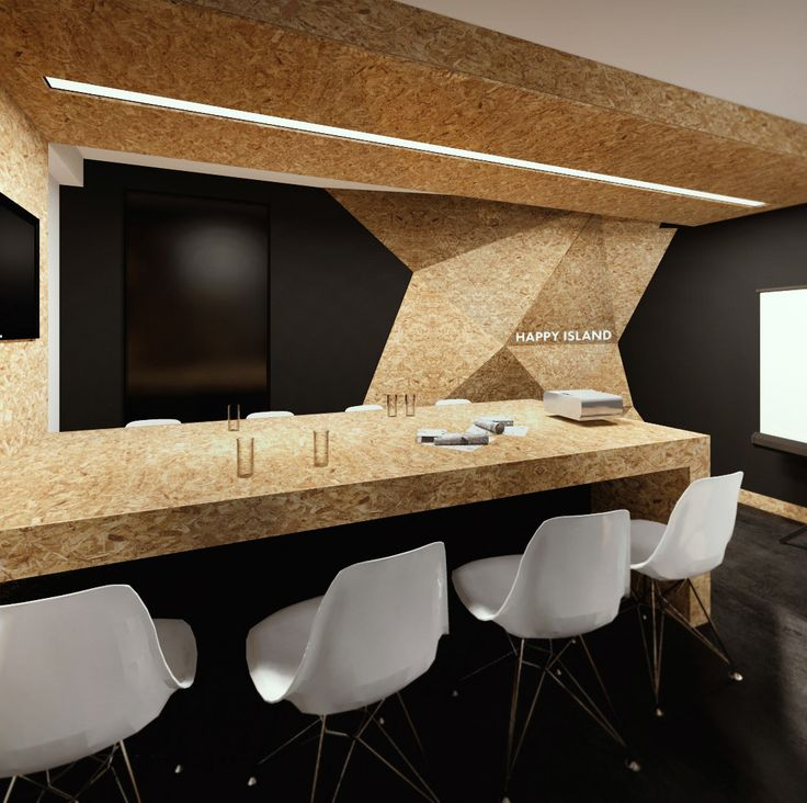 Happy Island Office / Interior