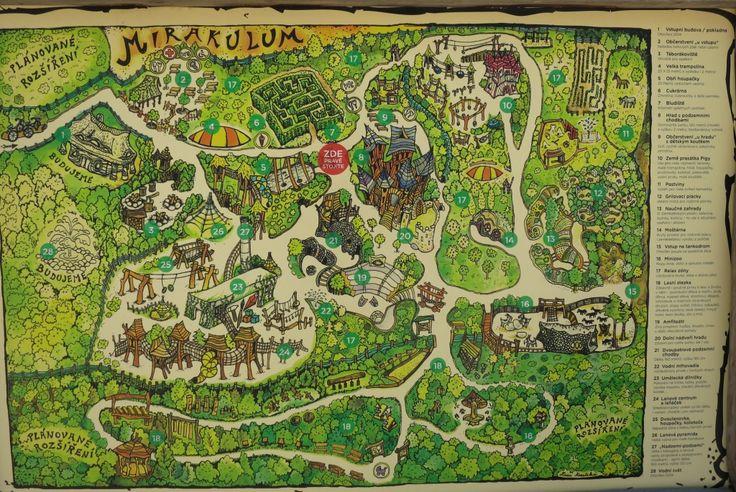 Mirakulum (Milovice) - mapa 2015