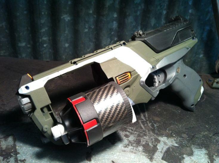 Nerf Barrel Break Paint