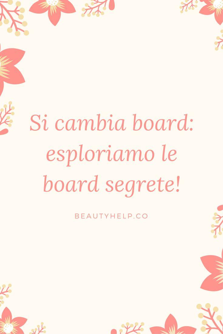 board segrete