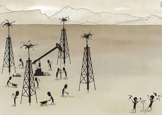 Hoy el petróleo, pero mañana podría ser el agua...