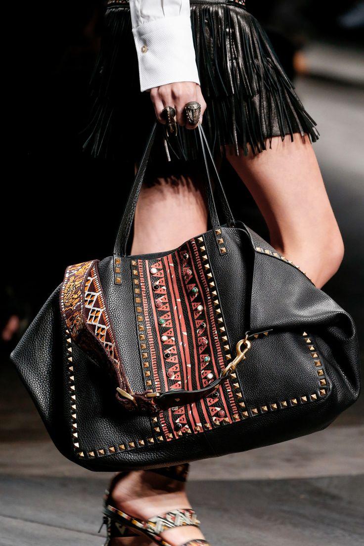 //Valentino Spring 2016 #fashion #accessories #bags