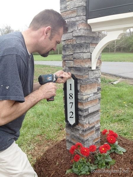 This is what we should do when we finally get rid of our sad little mailbox.