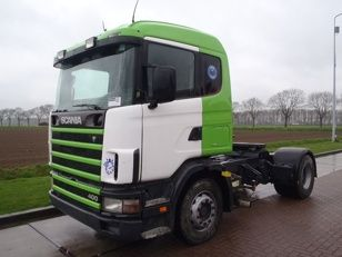 For sale: Used and second hand - Tractor unit SCANIA R 124.400