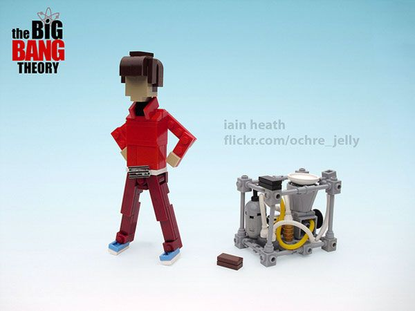TheBigBangTheory Lego Howard Wolowitz The Big Bang Theory: Miniatures LEGO des personnages en images