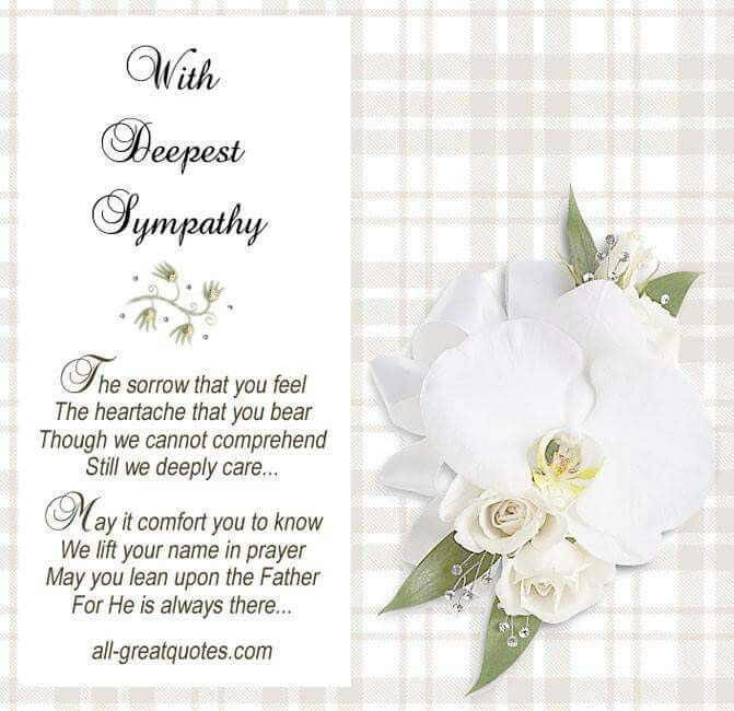 Best 25+ Deepest sympathy messages ideas on Pinterest With - condolence messages