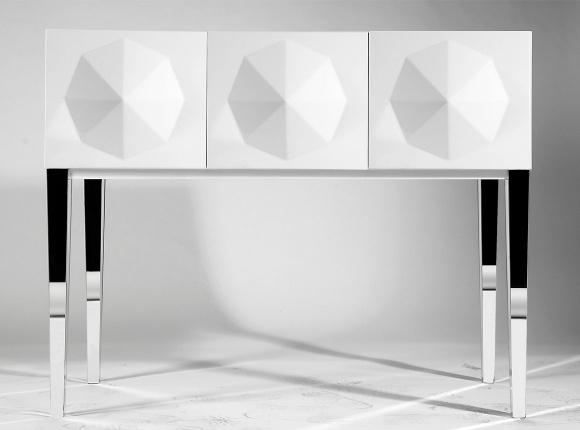 Fertini, Diamond Console Table, Buy Online at LuxDeco