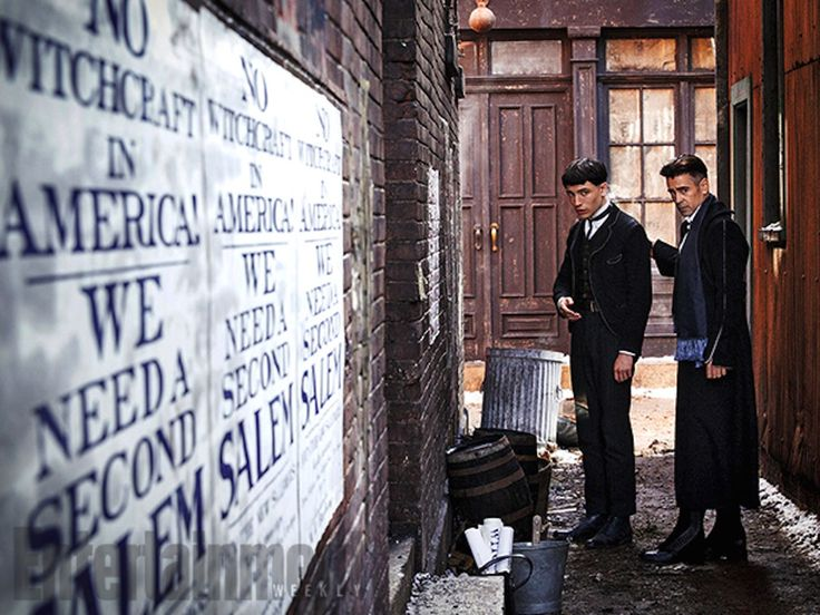 First Look: Ezra Miller in Fantastic Beasts and Where to Find Them. Pic & details here