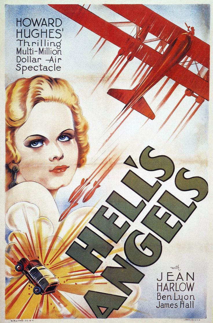 Hell's Angels with Jean Harlow (A Howard Hughes Production)