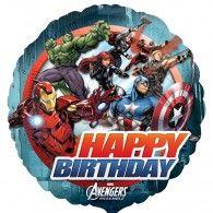 45cm Avengers Birthday $9.95 U27083