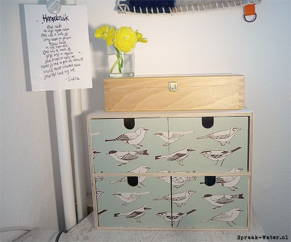 17 best images about ikea mini drawer chest hacks fira mackis moppe on p - Customiser commode ikea ...
