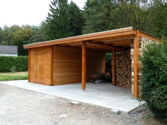 1000 images about backyard carport storage on for Wooden garage plans