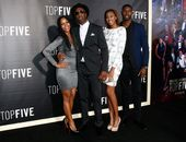 """Shahidah Omar, J.B. Smoove attending the """"Top Five"""" New York Premiere - Arrivals held at the Ziegfeld Theatre in New York City, NY, USA on 12/03/2014 