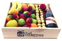 Valentines GH Mumm Champagne Gift + Ferrero Chocolates + Silk Red Roses http://www.igiftfruithampers.com.au/valentines-day-gifts #valentinesgift #valentinesday #valentineshamper #fruithamper #fruitbasket