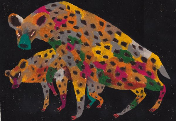 animal 2014.02 by machiko kaede, via Behance