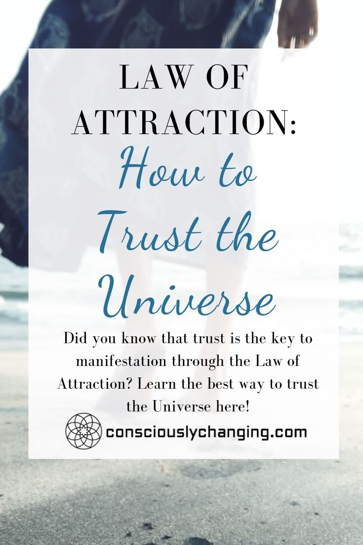 Did you know that trust is the key to manifestatio…