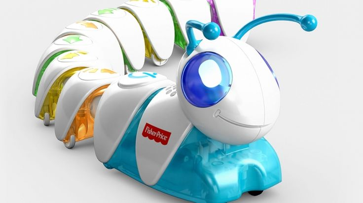 Fisher-Price's Cute New Toy Aims to Teach Preschoolers the Basics of Computer Programming #Toys #Kids #Coding