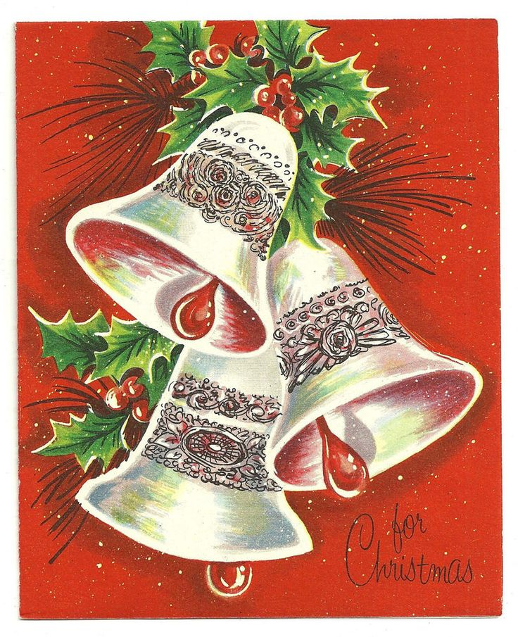 1000+ Images About Christmas Vintage-Bells & Candles
