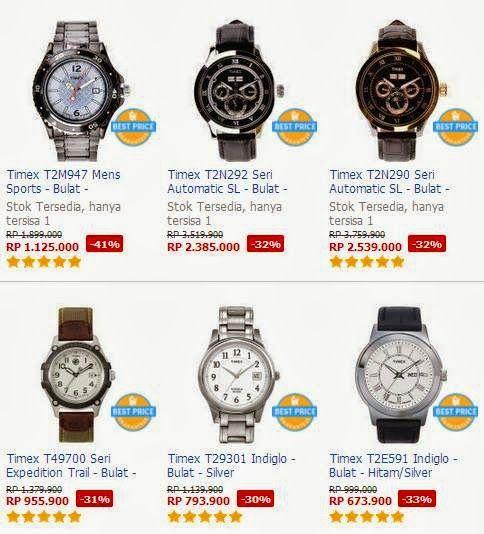 Daftar Harga Jam Tangan Timex Original Terbaru
