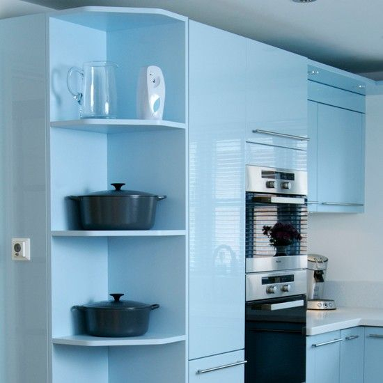Top 25 Ideas About Corner Shelves Kitchen On Pinterest