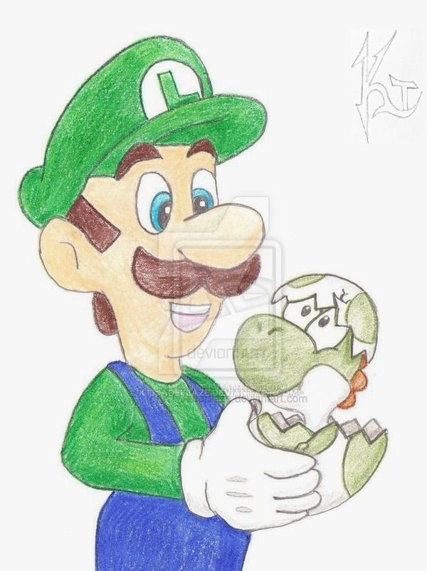 Mama Luigi by KT-JadeBlaze