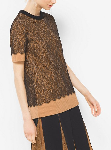 Cashmere And Chantilly Lace T-Shirt