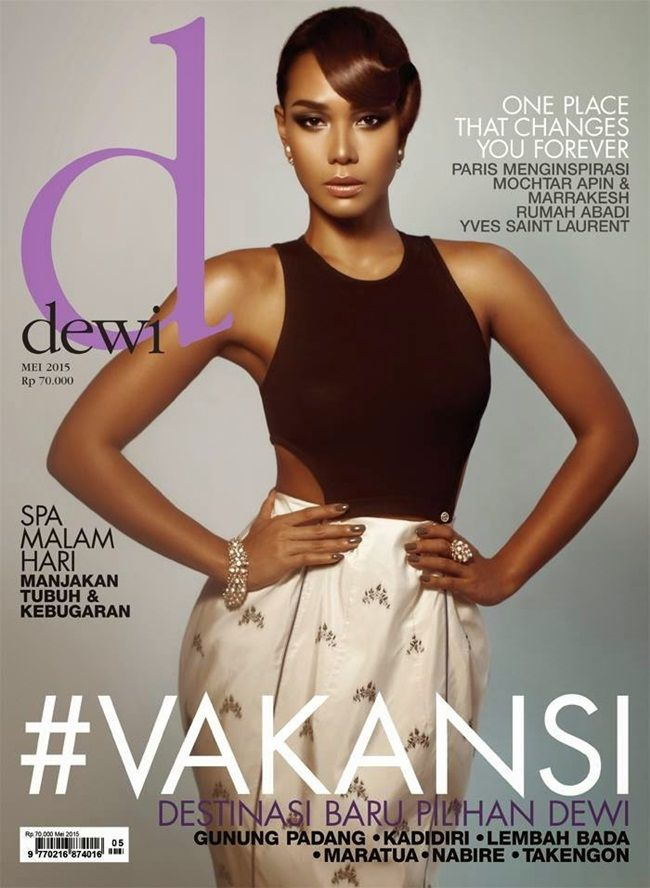 Dewi Magazine May 2015, Adinia Wirasti