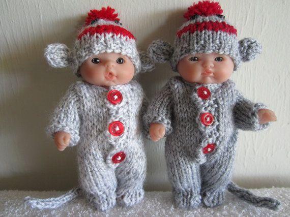 Knitting Pattern For Sock Monkey Pants : Les 115 meilleures images a propos de *1poupees vetements poupon sur Pinteres...